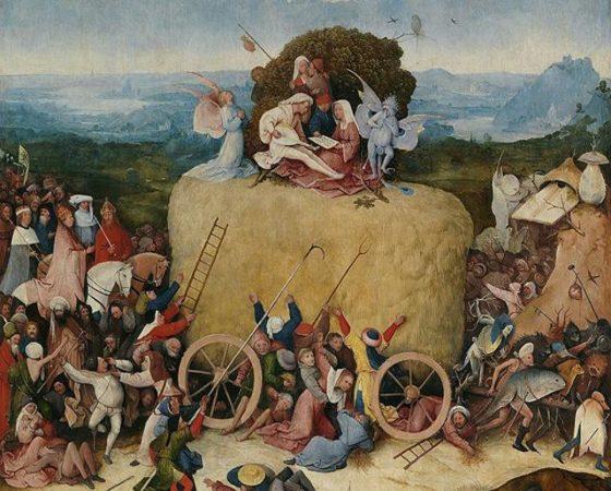 Alegoria dos Prazeres Carnais, Hieronymus Bosch