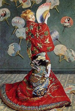 La Japonaise de Claude Monet