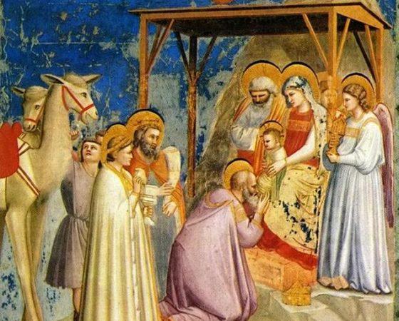 A Adoração dos Reis Magos, Giotto