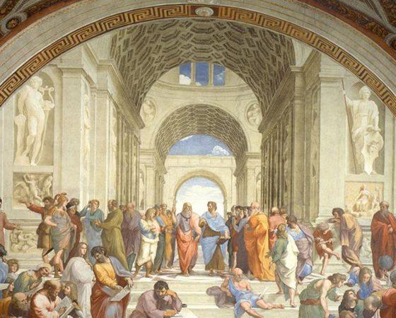 A Escola de Atenas, Rafael Sanzio