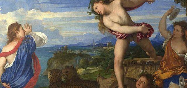 Baco e Ariadne, Ticiano Vecellio