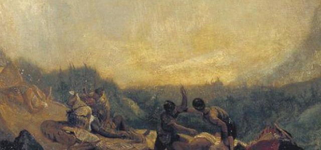 Aníbal Atravessando os Alpes, J.M.William Turner