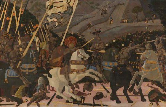 A Batalha de San Romano, Paolo Uccello