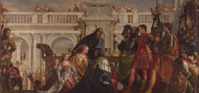 A Família de Dario diante de Alexandre