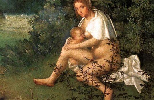 A influência de Giorgione na obra de Ticiano