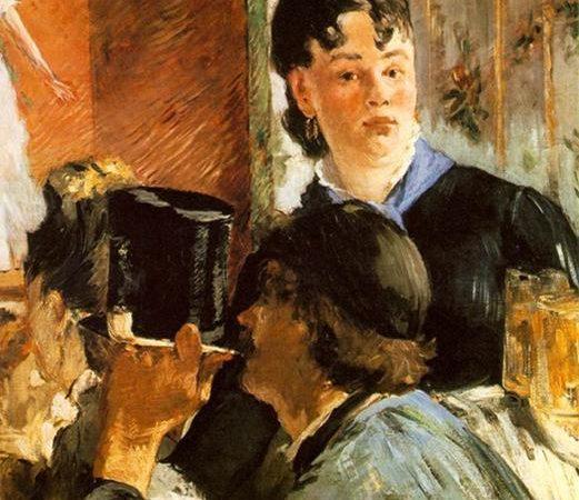 A Garçonete com Cervejas, Édouard Manet