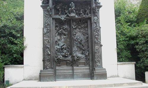 Porta do Inferno e o Pensador – Auguste Rodin