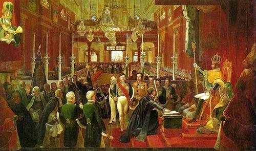 Coroação de Dom Pedro I, Jean Baptiste Debret