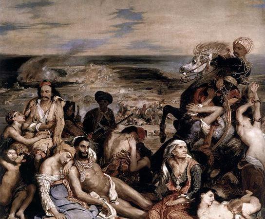 Os Massacres de Quios, Eugène Delacroix