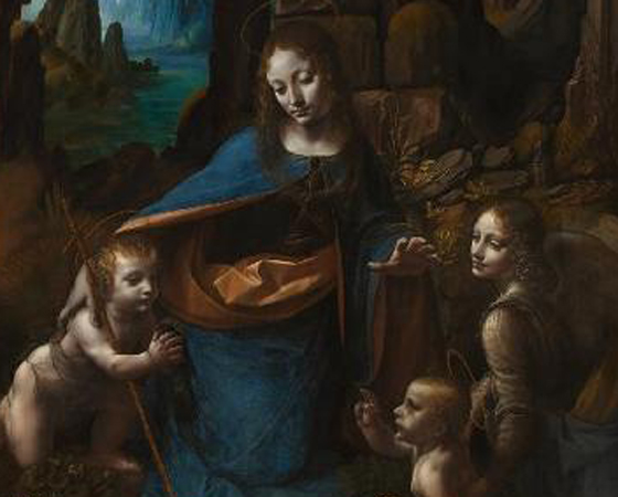 A Virgem dos Rochedos, Leonardo da Vinci