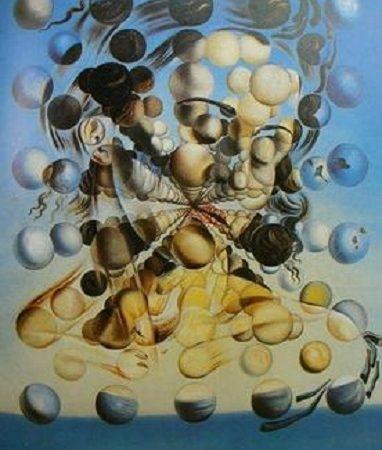 Galatea das Esferas – Salvador Dali