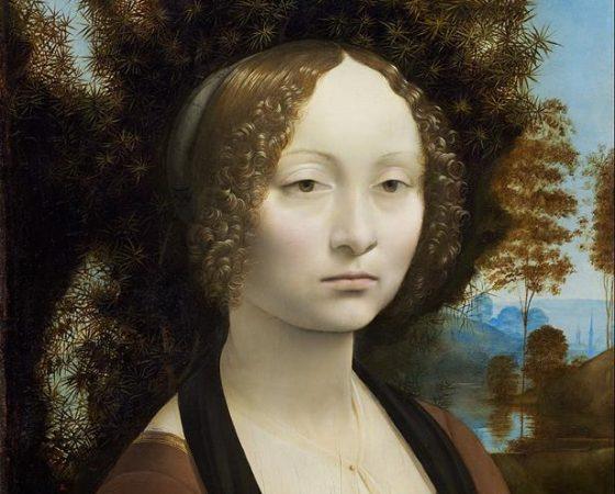 Retrato de Ginevra de Benci, Leonardo da Vinci