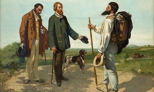 Bom dia, Senhor Courbet, Gustave Courbet