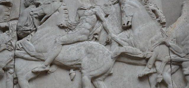 As esculturas do Partenon