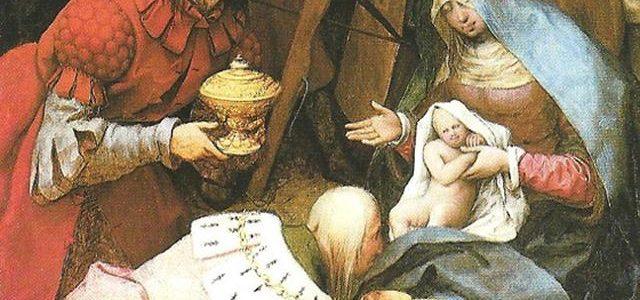 A Adoração dos Magos, Pieter Brueghel, o Velho