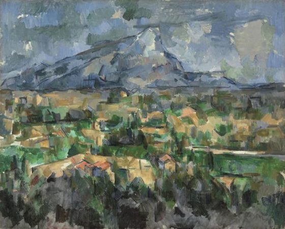 A Montanha de Santa Vitória, Paul Cézanne