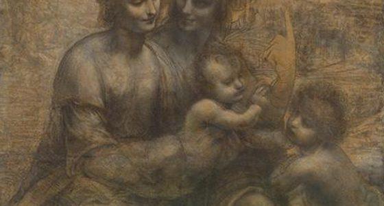 A Virgem e o Menino com Santa Ana e São João Batista, Leonardo da Vinci