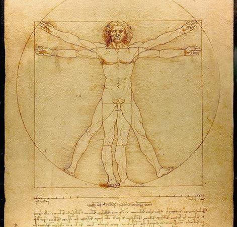 O Homem Vitruviano, Leonardo da Vinci
