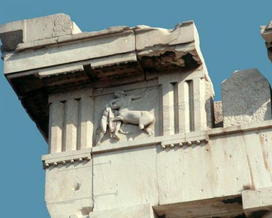 As métopas do Partenon