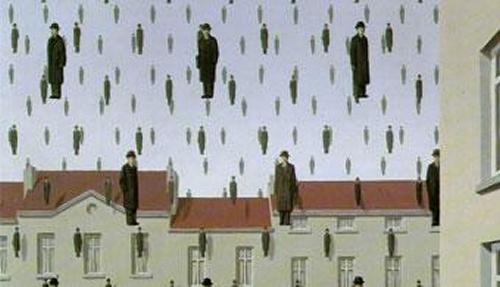 A Queda – René Magritte