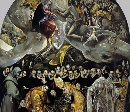 O Enterro do Conde de Orgaz, El Greco