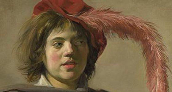 Retrato de um Jovem com uma Caveira Frans Hals