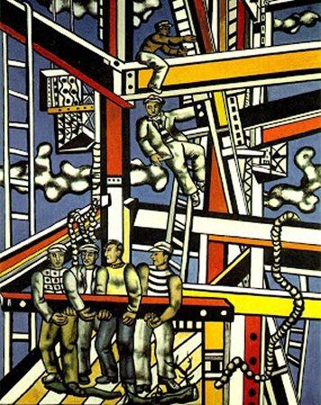 Os Construtores, Fernand Léger
