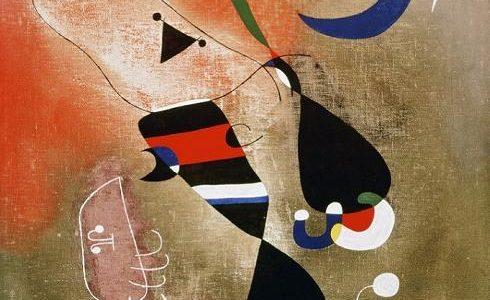 Mulheres e Pássaro ao luar, Joan Miró