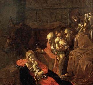 Adoração dos Pastores – Caravaggio