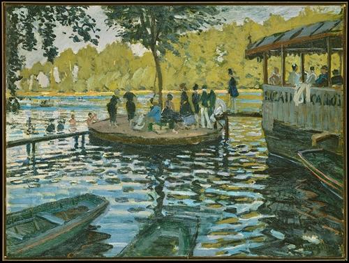Banhistas de La Grenouilliére, Claude Monet