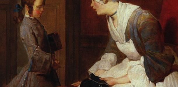 A Governanta, Jean-Baptiste-Siméon Chardin