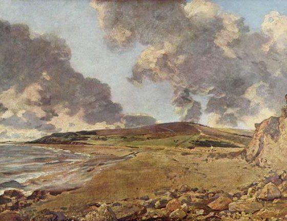 A Baía de Weymouth, John Constable