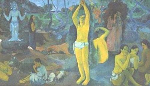 De onde viemos? O que somos? Para onde vamos? de Paul Gauguin