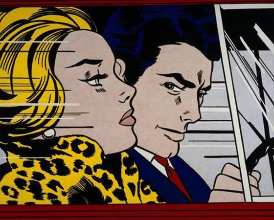 No Carro, Roy Lichtenstein