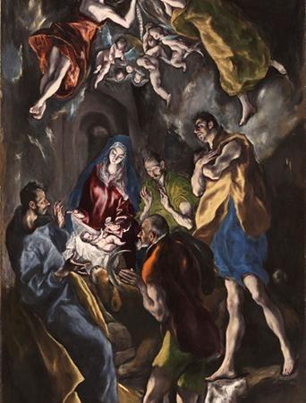 A Adoração dos Pastores, El Greco