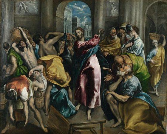 Cristo Expulsando os Mercadores do Templo, El Greco
