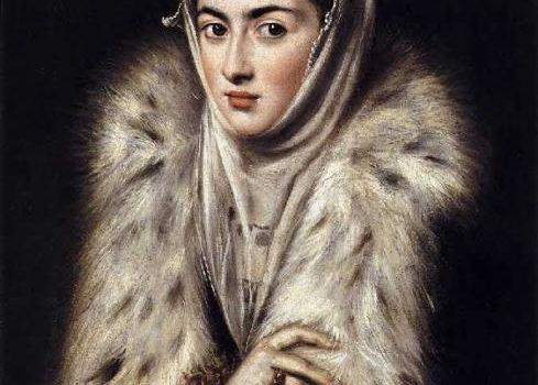 Dama no Casaco de Peles, El Greco