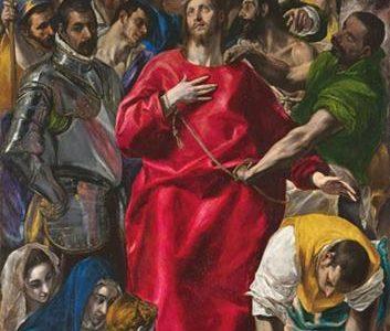 O Espólio – O Desnudamento de Cristo, El Greco