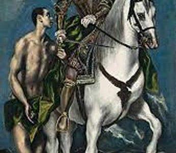 São Martim e o Mendigo, El Greco