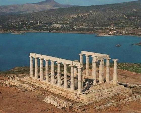 Templo de Poseidon, Cabo Sounio