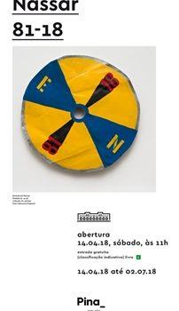 Exposição Emmanuel Nassar: 81-18 – Pinacoteca Estação – SP