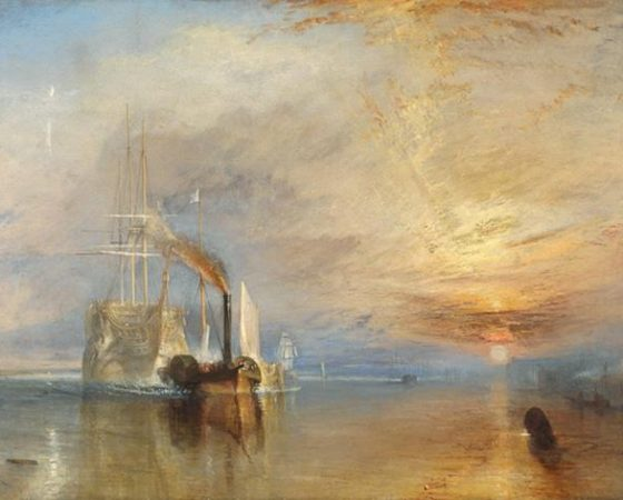 O Combatente Téméraire, J.M.William Turner