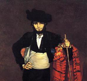 Jovem vestido como toureiro, Edouard Manet