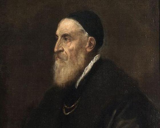 Autorretrato, Ticiano Vecellio
