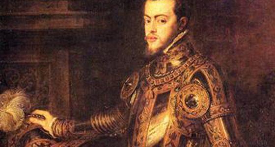 Filipe II, Ticiano Vecellio