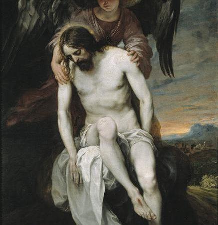 Cristo Morto Amparado por um Anjo, Alonso Cano
