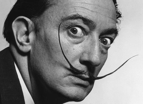 Autorretrato Mole com Bacon Frito, Salvador Dalí