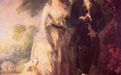 O Passeio Matinal, Thomas Gainsborough