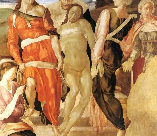 O Sepultamento, Michelangelo