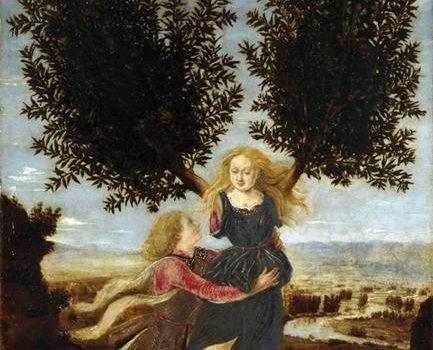 Apolo e Dafne, Antonio del Pollaiolo